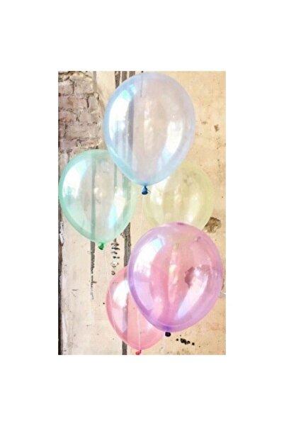BalonEvi Balon Ekstra Şeffaf Karışık (10 Adet)