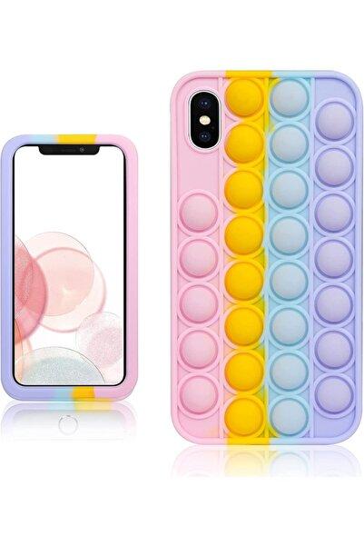 Bilişim Aksesuar Apple Iphone X Xs Rainbow Bubble Stres Pop It Kılıf