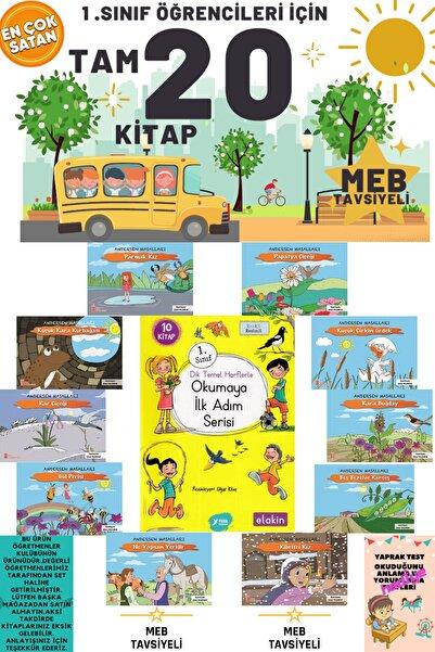 Erdem Yayınları 1. Sınıf Öğrencileri Için Muhteşem Bir Set Tam 20 Kitap Evony Tonguç Tudem Sincap