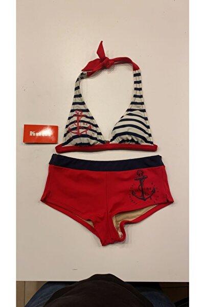 Kom Kadın Kırmızı Mare Bikini Takımı Mare