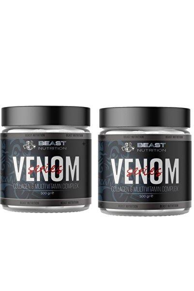 BeastNutrition 2 Adet Beast Nutrition Venom Series Collagen And Multivitamin Complex 500 Gr.