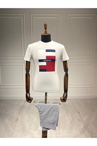Sarar Interview 0 Yaka Beyaz T-shirt
