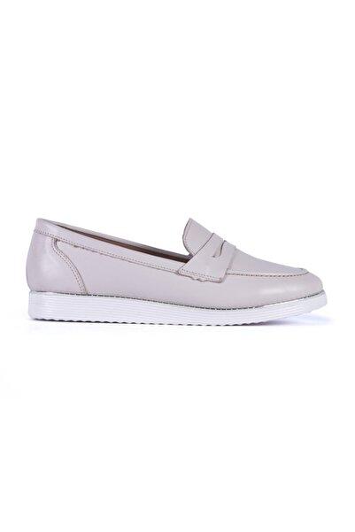 ALURA Kadın Hakiki Deri Günlük Ayakkabı Loafer Comfort Tp6336