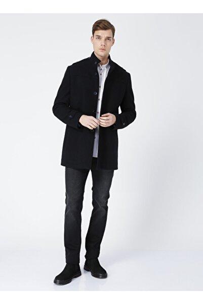 Fabrika Erkek Lacivert Palto