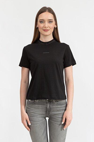 Calvin Klein Kadın Bisiklet Yaka T-shirtj20j215500