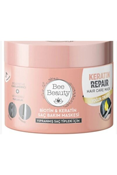 Bee Beauty Biotin & Keratin Saç Bakım Maskesi 300 Ml