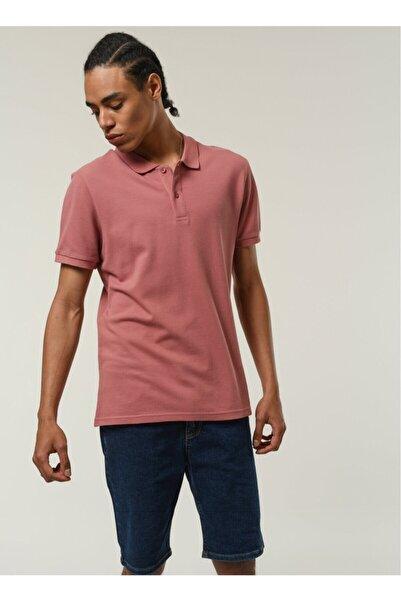 Fabrika Erkek Polo Yaka T- Shirt Gül Kurusu
