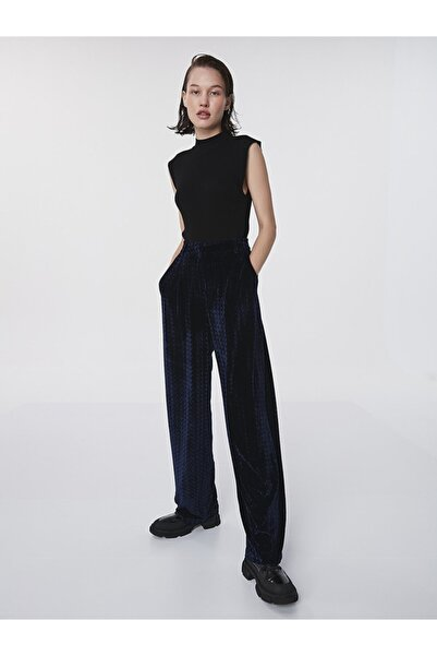 Twist Kadife Form Pantolon