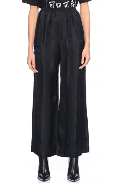 Marc Jacobs Kadın Siyah Geniş Kesim  Pantolon