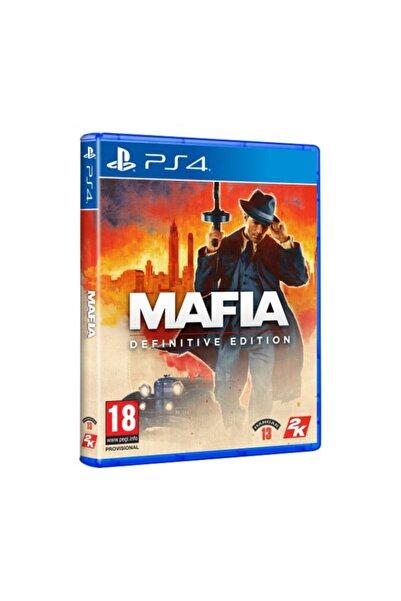 2K Mafia Definitive Edition PS4 Oyun