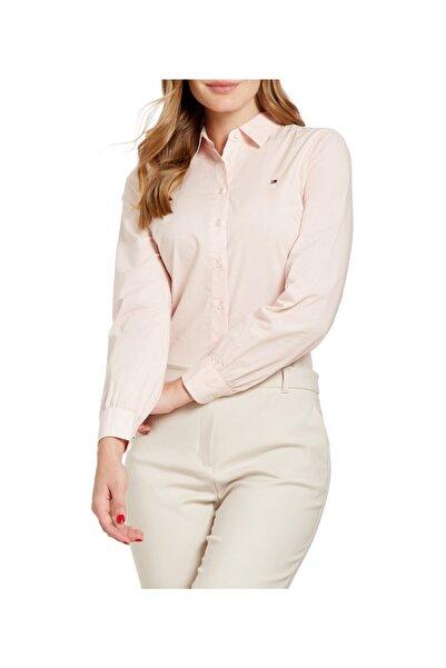 Tommy Hilfiger Kadın Pembe Gömlek