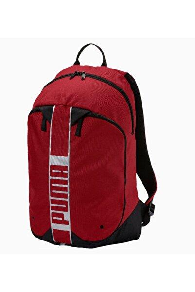 Puma Unisex Kırmızı Sırt Çantası Deck Packback 2 Red 075102-04