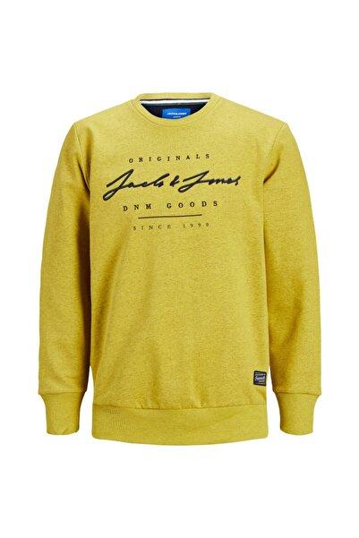 Jack & Jones Erkek Sarı Sweatshirt 12177000-smd