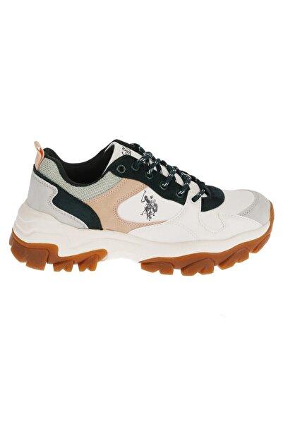 U.S. Polo Assn. Kadın  Beyaz Kışlık Ayakkabı   20w04tracky