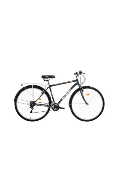 Bisan Cts 5200 Şehir Bisikleti Gri/Turuncu