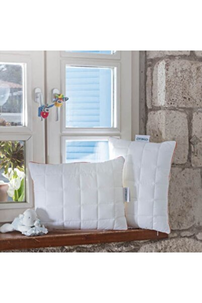 OTHELLO Tempura 95 ° C'de Yıkanabilen Hijyenik, Alezli Bebe Yastık 35x45 Cm
