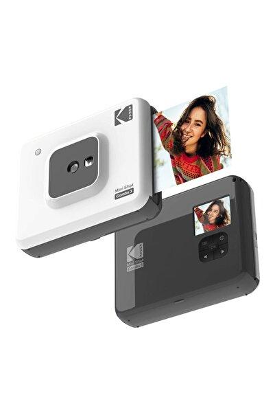 Kodak Mini Shot Combo 3 - Anında Baskı Dijital Fotoğraf Makinesi - Beyaz