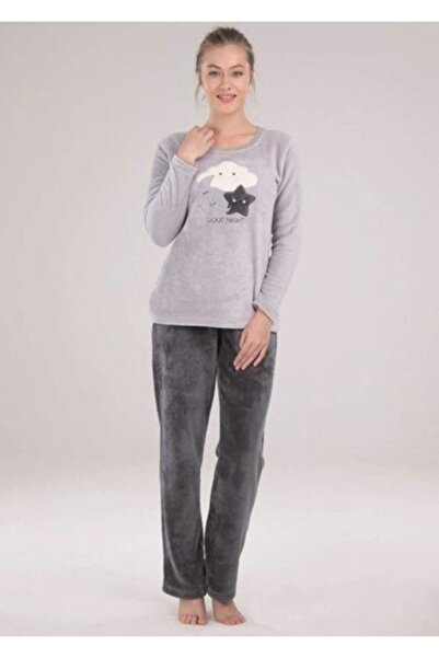 Blackspade Kadın Polar Pijama Takımı