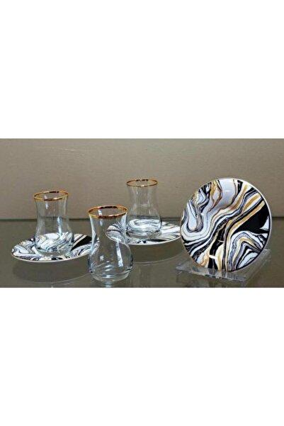 çerçi Homechic Carat Çay Seti 6 Kişilik Marble 2