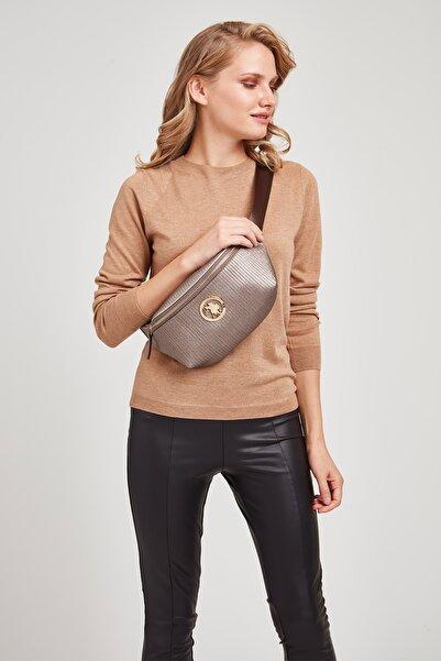 U.S. Polo Assn. Kadın Kursun  Renk Bel Çantası Us8087