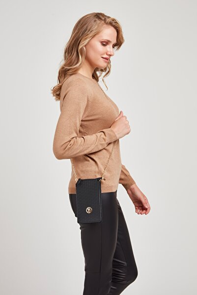 U.S. Polo Assn. Siyah Kadın Portföy Çanta Us8115