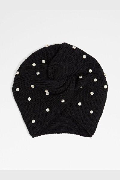 Aldo Kadın Siyah Şapka Şal Eldiven