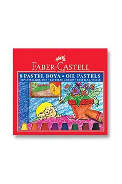 Faber Castell Pastel Boya 8 Renk