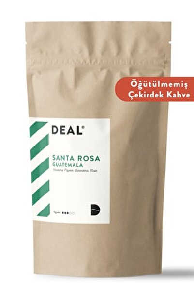 Guatemala Santa Rosa Single Origin Taze Kavrulmuş Çekirdek Kahve 250 Gr Öğütülmemiş