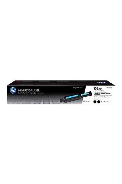 HP W1103ad 103ad 2'li Neverstop Dolum Toneri 5000 Sayfa