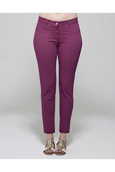 GEBE Kadın Mor Pantolon Akus