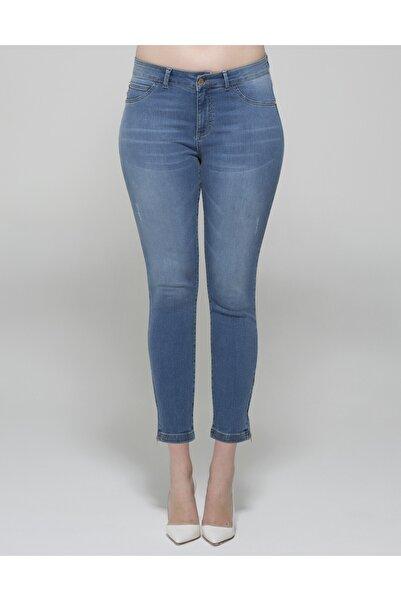 GEBE Kadın Mavi Kot Pantolon Sweetie