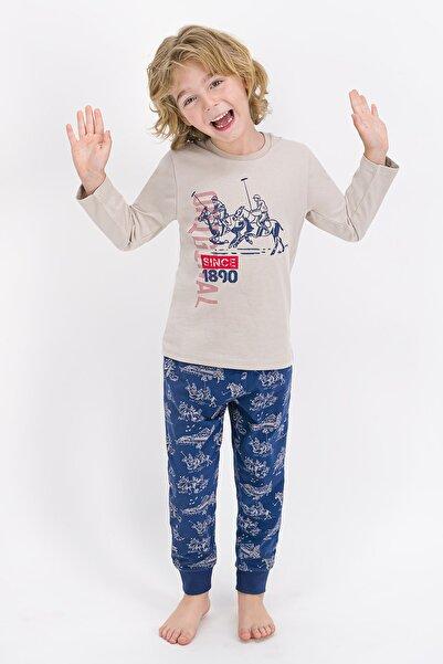 U.S. Polo Assn. Erkek Çocuk Taş Pijama Takımı