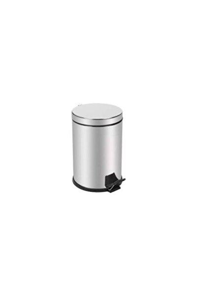 Royal 3 litre Paslanmaz Pedallı Çöp Kovası