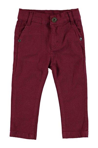 Monna Rosa Erkek Çocuk Bordo Pantolon