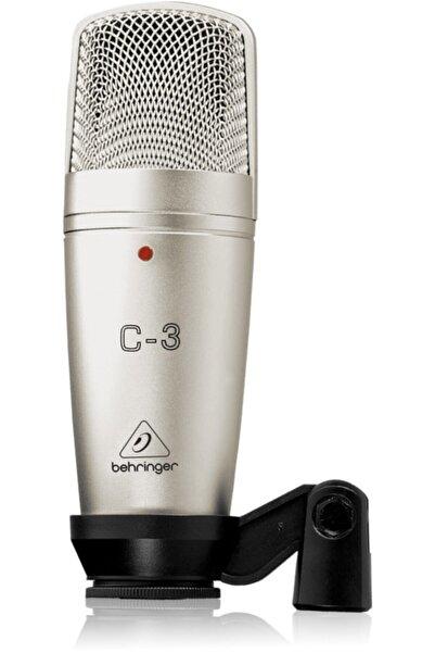 İstanbul Behringer C-3 Condenser Stüdyo Kayıt Mikrofonu