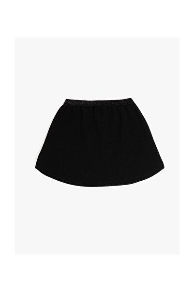 Koton Kız Çocuk Siyah Mini Etek