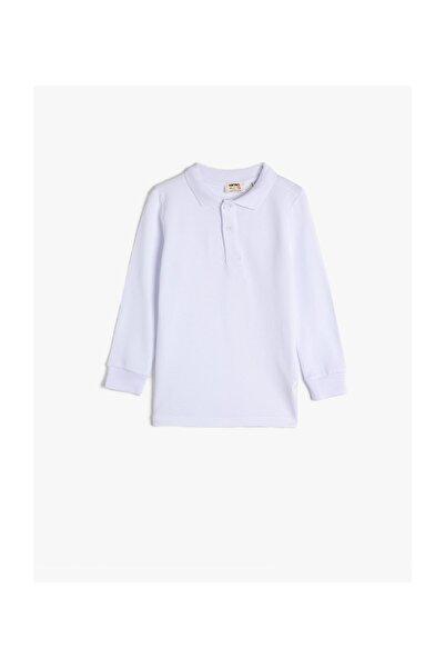 Koton Kids Beyaz Erkek Çocuk T-Shirt