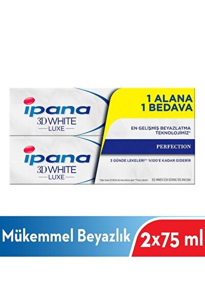 İpana Diş Macunu Luxe Perfection 75 ml 1 + 1 Paket 8564132136584