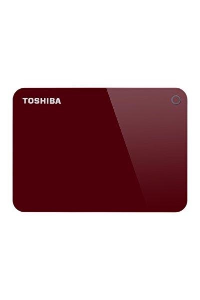 Toshiba 1tb Advance 2.5 Usb3.0 Toshıba Hdtc910er3aa Kırmızı (parola Koruma, Otomatik Yedekleme)