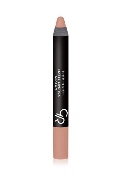 Golden Rose Mat Kalem Ruj - Matte Lipstick Crayon No: 15 8691190903152