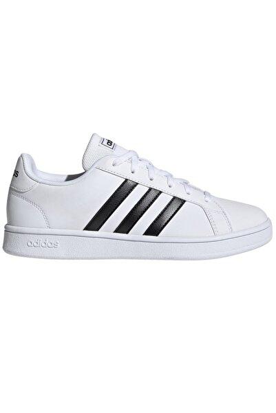 adidas Grand Court Base Kadın Beyaz Ayakkabı Ee7968