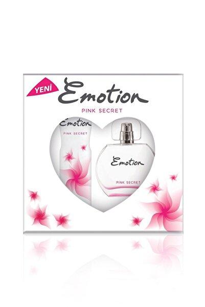 Emotion Deodorant Kadın Parfüm Seti Pink Secret Edt 50 ml  ve 150 ml