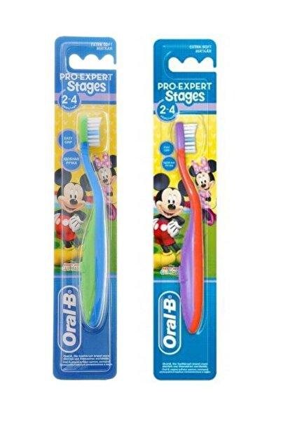 Oral-B Stages 2 Çocuk Diş Fırçası 2 - 4 Yaş
