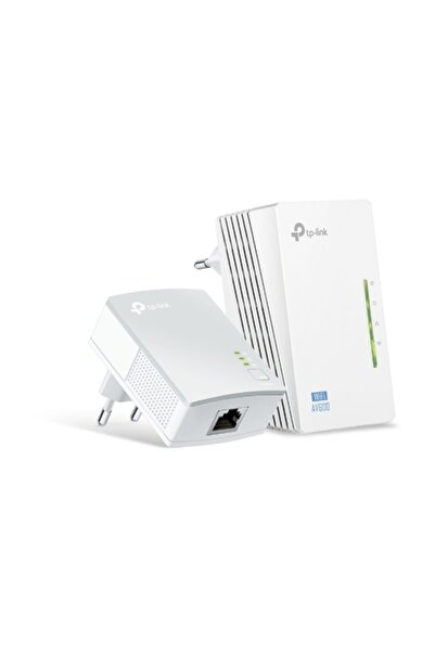 TP-LINK TL-WPA4220KIT AV600 300 Mbps Kablosuz 2 LAN Portlu 300 Metre Mesafeli Menzil Genişletici Adaptör