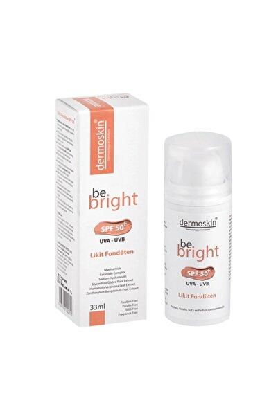 Dermoskin Be Bright Spf50+ Likit Fondöten 33ml - Light