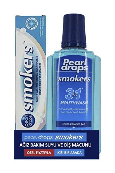 Pearl Drops Smokers Diş Macunu 75 ml+Ağız Suyu
