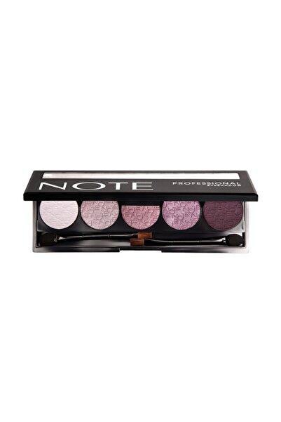 NOTE Cosmetics 5'li Göz Farı - Professional Eyeshadow No: 102