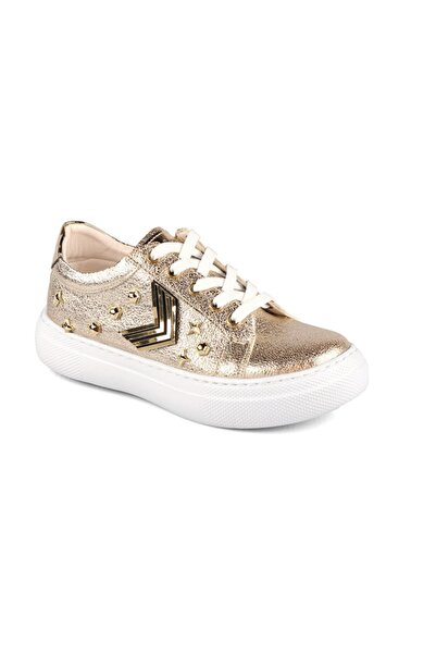 Vicco Kız Çocuk Altın Kalın Tabanlı Fılet Sneaker 970.19y.429