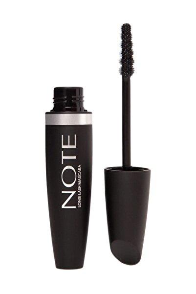 NOTE Cosmetics Uzatıcı Etkili Siyah Maskara - Long Lash Mascara