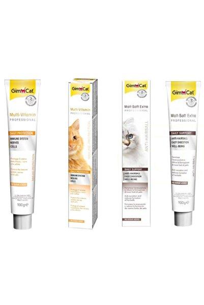 Gimcat Multivitamin 100 Gr + Malt Soft Extra 100 Gr